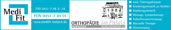Anzeige MediFit GmbH Krankengymnastik Massage Trainingstherapie