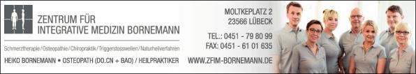 Anzeige Zentrum für integrative Medizin Bornemann (Osteopath DO.CN)