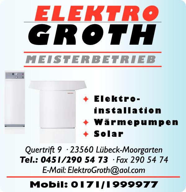 Anzeige Elektro-Groth