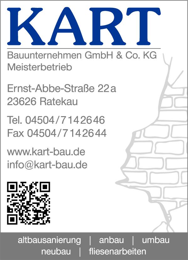 Anzeige Kart Bauunternehmen GmbH & Co.KG