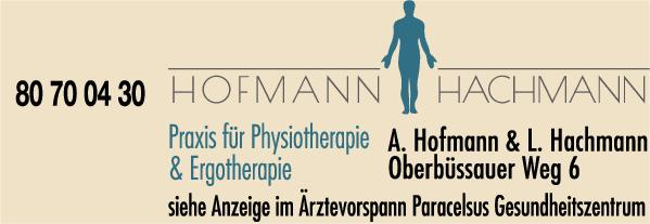Anzeige Alexander Hofmann & Lars Hachmann