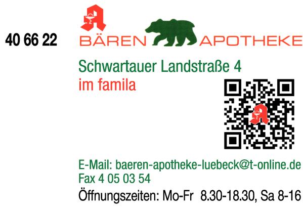 Anzeige Bären-Apotheke Apotheke