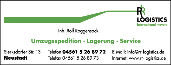 Anzeige RR Logistics Umzüge