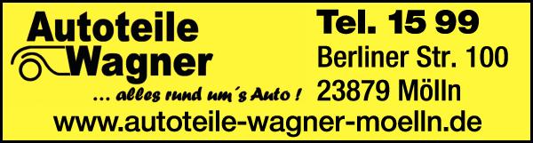 Anzeige Autoteile Wagner