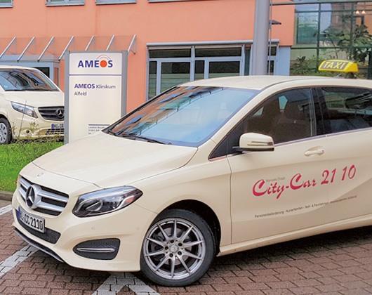 Kundenbild groß 1 Taxi u. City Car Inh. Manuela Draab