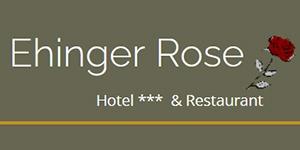 Kundenlogo von Ehinger Rose Fam. Bürkle Hotel,  Restaurant