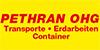Kundenlogo von Pethran OHG Transporte, Erdarbeiten,  Container