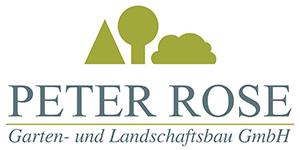 Kundenlogo von Peter Rose Garten- u. Landschaftsbau GmbH
