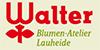 Kundenlogo von Waldfriedhof Lauheide Blumen-Atelier Walter