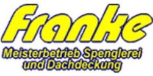 Kundenlogo von Franke Spenglerei und Dachdeckerei