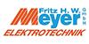 Kundenlogo von Meyer Elektrotechnik GmbH