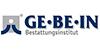 Kundenlogo von GE·BE·IN Bestattungsinstitut