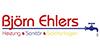 Kundenlogo von Björn Ehlers Heizung-Sanitär-Solaranlagen
