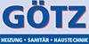 Kundenlogo von Goetz Heizung Sanitär Haustechnik