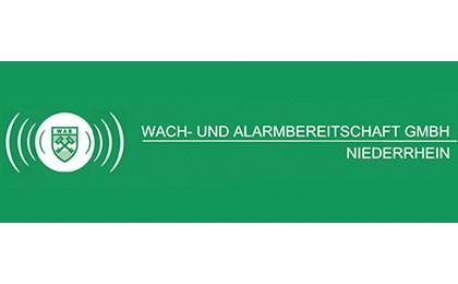 Kundenlogo von Wach- und Alarmbereitschaft Niederrhein GmbH