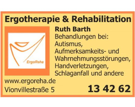 Kundenbild groß 1 Ergotherapie & Rehabilitation Ruth Barth