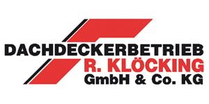 Kundenlogo von Dachdeckerbetrieb R.Klöcking GmbH & Co.KG