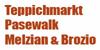 Kundenlogo von Melzian u. Brozio Teppichmarkt