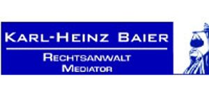 Kundenlogo von Baier Karl-Heinz Rechtsanwalt / Mediator