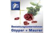 Kundenlogo Bestattungsunternehmen Göpper + Maurer
