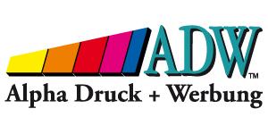 Kundenlogo von ADW Alpha Druck + Werbung Hans-Michael Nikolai