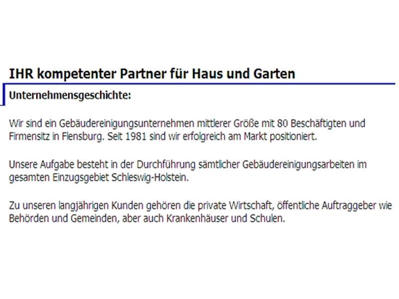Fenster-& Büroreinigung N. Thomsen Inh. S. Steinbacher