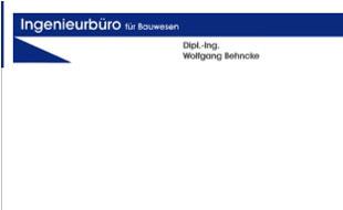 Logo von Behncke Wolfgang Ingenieurbüro für das Bauwesen