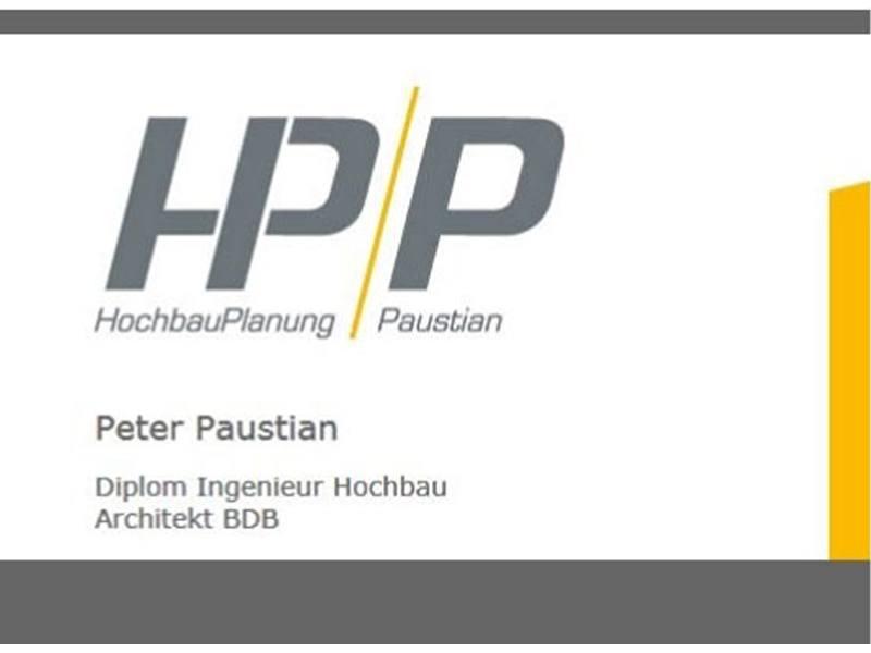 HP/P HochbauPlanung Paustian Inh. Peter Paustian