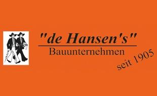 """Logo von """"de Hansen's"""", Dirk & Otto Hansen, Bauunternehmen GmbH & Co.KG"""