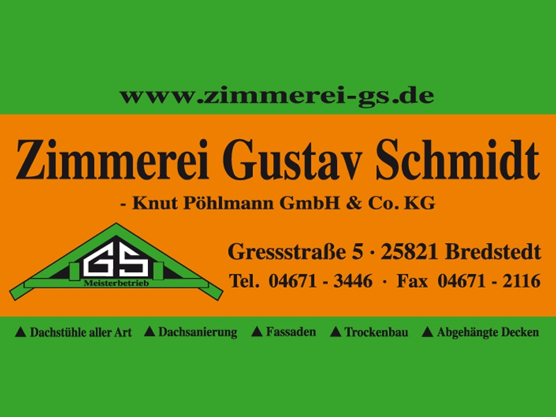 Zimmerei Gustav Schmidt - Knut Pöhlmann GmbH & Co.KG