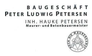 Logo von Petersen Peter Ludwig Baubetrieb