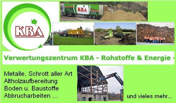 KBA Kompost- Bauschutt- Altstoff Aufbereitung und Verwertung T & T GmbH u. Co. KG