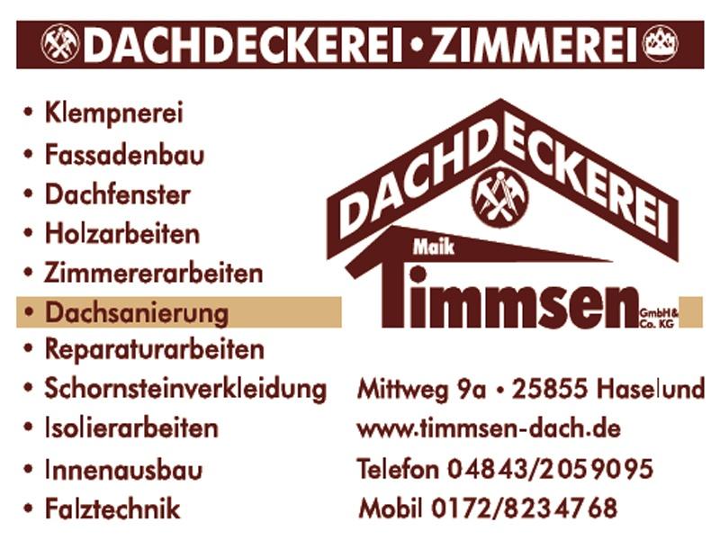 Dachdeckerei Maik Timmsen, GmbH & Co. KG