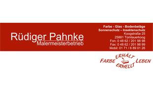 Logo von Pahnke Rüdiger Malermeisterbetrieb