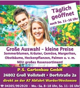 Logo von P.S. Gartenbau GmbH Blumen