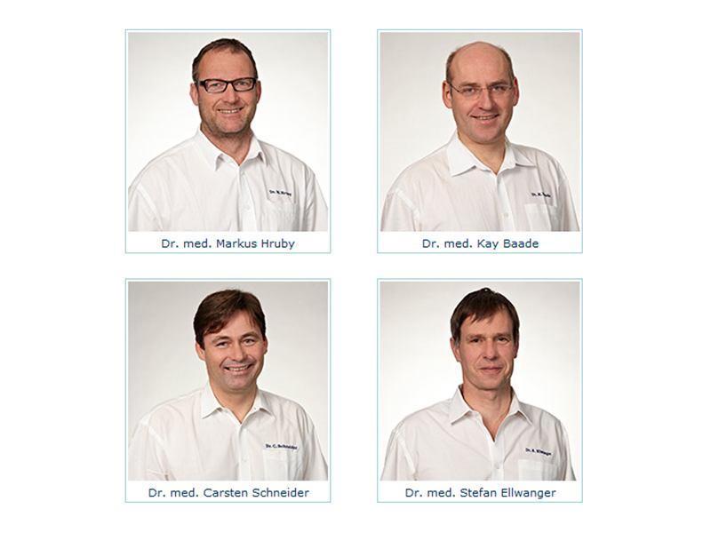Orthopädische Gemeinschaftspraxis Dr. Hruby M., Dr. Baade K., Dr. Schneider C., Dr. Ellwanger S.