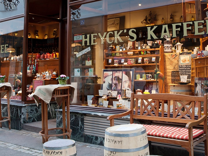 Heyck Radbruch Nachfolger Kaffee Tee