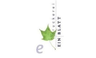Logo von Einblatt Druckerei Inh. Ursula Draeger
