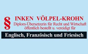 Logo von Völpel-Krohn Inken Dipl. Übers.jur. vereid. u. öffentl. best.
