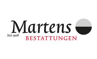 Logo von Martens Bestattungen