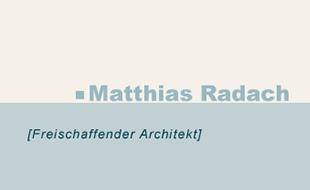 Bild zu Radach Matthias Architektenbüro in Kiel