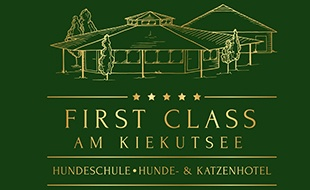 Logo von Hundeschule & Hunde- und Katzenhotel FIRST CLASS am Kiekutsee R.Lütjohann Hundeschule