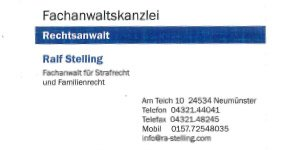 Logo von Stelling Ralf Rechtsanwalt