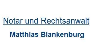 Logo von Blankenburg Matthias Rechtsanwalt und Notar
