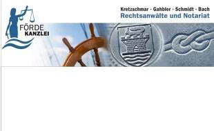 Bild zu Kretzschmar, Gahbler, Bach Rechtsanwälte und Notariat in Eckernförde