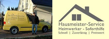 Der Haus-Handwerker Thomas Gussner