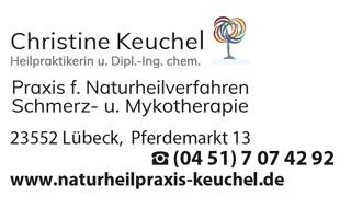 Keuchel Christine Dipl. Ing. chem. Praxis für Naturheilverfahren, Schmerz- und Mykotherapie, Heilpraktikerin