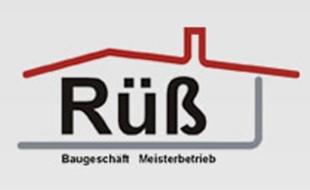 Logo von Rüß GmbH & Co. KG Baugeschäft