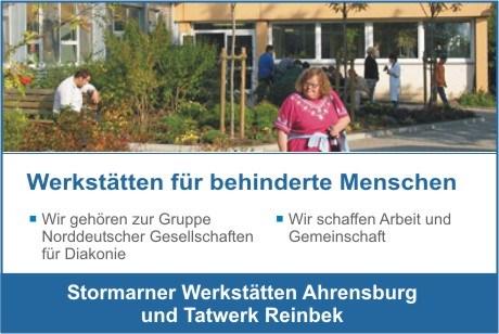 Stormarner Werkstätten - Werkstatt Ahrensburg