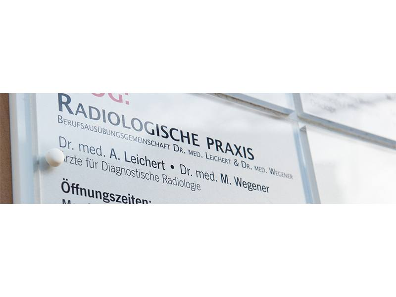 Leichert A. Dr. med. u. Wegener Matthias Dr. med. Ärzte für Diagnostische Radiologie